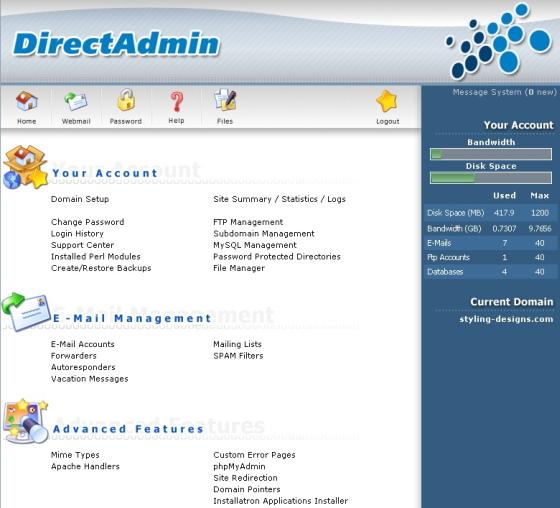 directadmin-hosting-control-panel