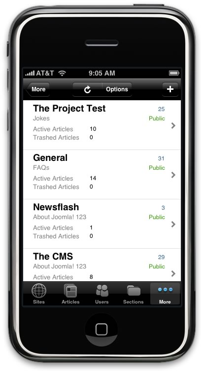 view-and-edit-joomla-categories-with-admin-mobile-on-iphone